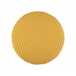 Tapis de jeu rond Kiowa - Farniente yellow - small