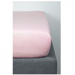 Drap Housse en Coton Bio pour lit bébé - 70x140 cm - Rose pâle