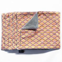 Essuie-tout et serviette de table - lot de 6 - Yona