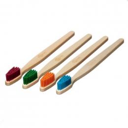 Brosse à dent en bois Adulte - Turquoise