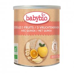 Céréales Fruits bio avec Quinoa (dès 6 mois)