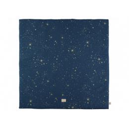 Tapis de jeu carré Colorado - Gold bubble & Night blue