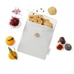 Pochette casse-croûtes lavable et réutilisable Snack'n'Go - Gris