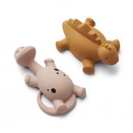 Set de 2 jouets de bain Algi Rose mix