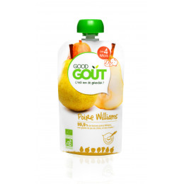 Gourde de fruit : poire william - 120 g - dès 4 mois