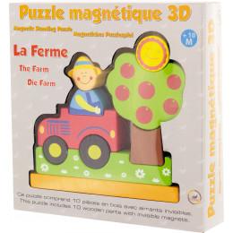 """Puzzle magnétique 3D """"la ferme"""" - à partir de 10 mois"""