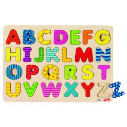 """Puzzle en boisàencastrement """"ABC"""" - à partir de 3 ans"""