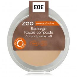 Navulling Compact Gezichtspoeder 303 (Bruin beige)