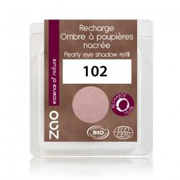 Navulling Oogschaduw parelmoer 102 (Parelmoer roze beige)