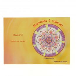 """Mandala's om te kleuren nr. 2 """"De wereld van de natuur"""""""