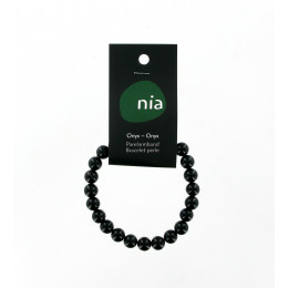 Kralen armband Onyx
