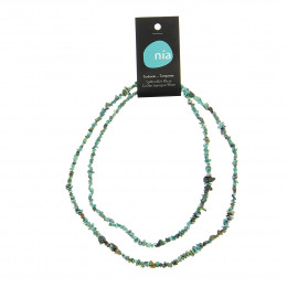 Barok ketting 90 cm Turquoise
