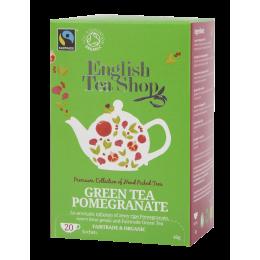 Groene thee en granaatappel Biologisch en Fairtrade 20 infusettes