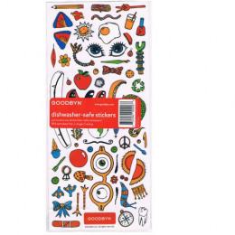 Stickers voor het versieren van Goodbyn doosjes (Letters, cijfers en tekeningen)