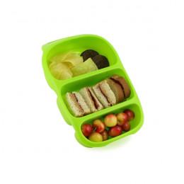 Bynto lunchbox met handvat en 3 compartimenten