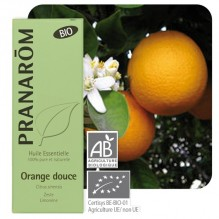 Zoete sinaasappel essentiële olië BIO