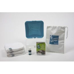 Mini Set Wasbare Billendoekjes - Mandarijn