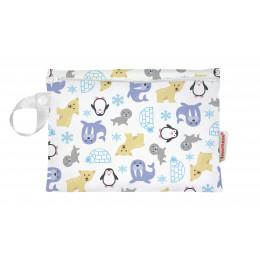 Universele wet bag - Mini - Zipper - Snowland