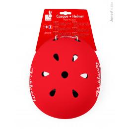 """Rode helm """"bikloon"""" - vanaf 3 jaar"""