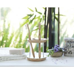 Tandenborstel voor volwassenen uit bamboe