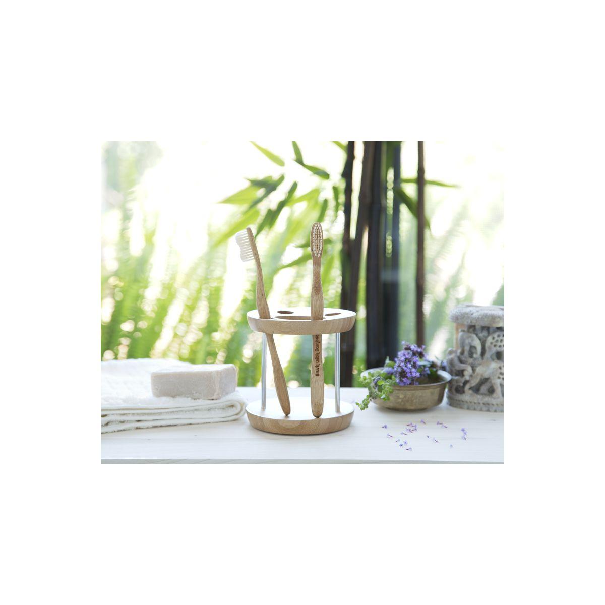 602a0832ace Tandenborstel voor volwassenen uit bamboe - SeBio