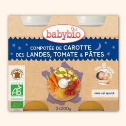 Groenten-pasta (vanaf 8 maanden) - pack van 2 potjes