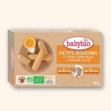 Bio lange vingers koekjes met zoete sinaasappelsap - vanaf 10 maanden