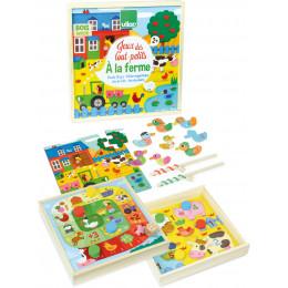 """Speelgoed voor de allerkleinsten """"op de boerderij"""" - vanaf 2 jaar"""