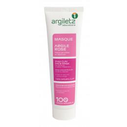 Roze klei gezichtsmasker in tube - 100 gr