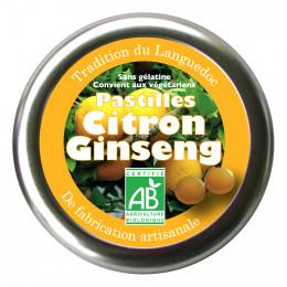 Pastilles - Citroen Ginseng - 45g