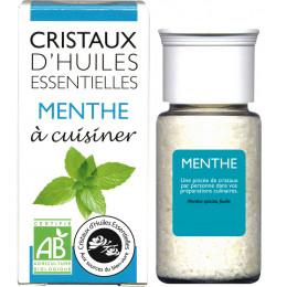 Essentiële olie kristallen - Culinair - Munt - 10g