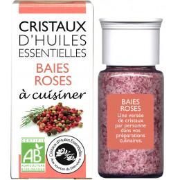 Essentiële olie kristallen - Culinair - Roze peper - 18g