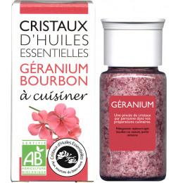 Essentiële olie kristallen - Culinair - Geranium - 10g