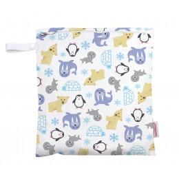 Universele wet bag - Medium - Zipper - Snowland
