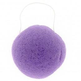 Ronde Konjac spons - Violet / gevoelige huid