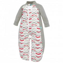 Pyjama-slaapzak dik - Rode pijltjes TOG 2.5 / 2-12 maanden