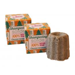 2x Solide shampoo - Normaal haar - Scots pine