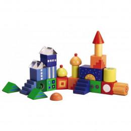 Kleurrijke Bouwblokken Set - Fantasiestenen