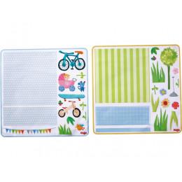 Decoratieve kleefaccessoires voor poppenhuis - Little Friends