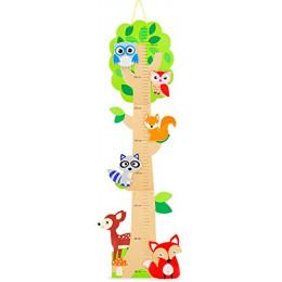 Houten groeimeter -  De vrienden van het bos – vanaf 18 maanden