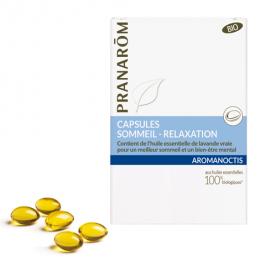 Aromanoctis capsules - Slaap & ontspanning - 30 stuks