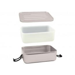 grijze lunchbox 'Plus'