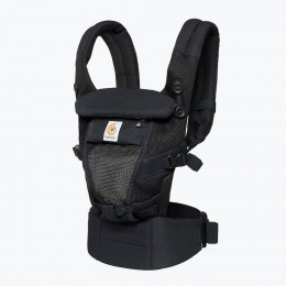 Babydrager - ADAPT - 3 posities - Cool Air Mesh - Onyx Black