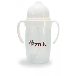 Zoli Bot 2.0 Drinkbeker met rietje Wit - 295ml