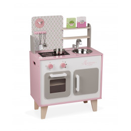 Roze keukentje 'Macaron' - vanaf 3 jaar