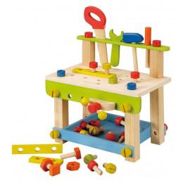 Houten speelgoedwerkbank - Vanaf 3 jaar