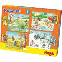 Puzzelset met 4 Puzzels - De seizoenen