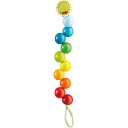 Kleurrijke Speenketting - Regenboogparels
