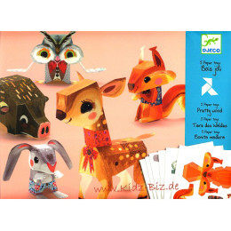 Origami Vouwset Paper Toys - Mooi Bos