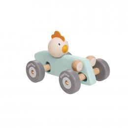 Kippen racewagen - vanaf 1 jaar